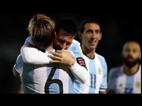 messi mengamuk argentina lolos ke piala dunia 2018
