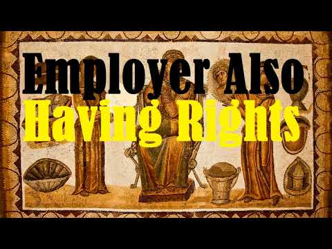Employer Also Having Rights (Management Prerogatives)