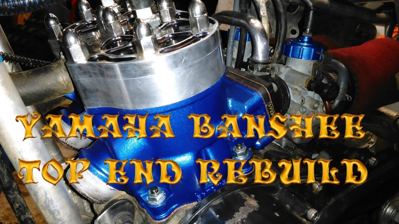 medium resolution of 06 banshee topend rebuild with wiseco pistons and rings