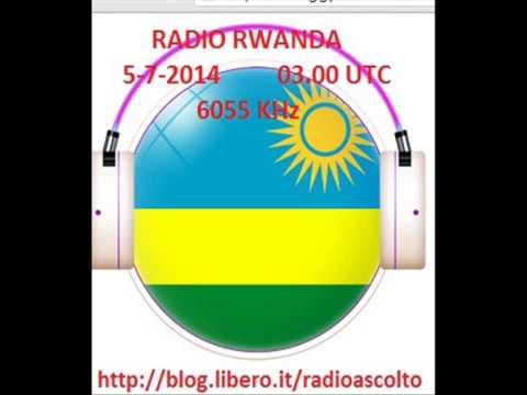 RADIO RWANDA 6055 KHz JINGLE