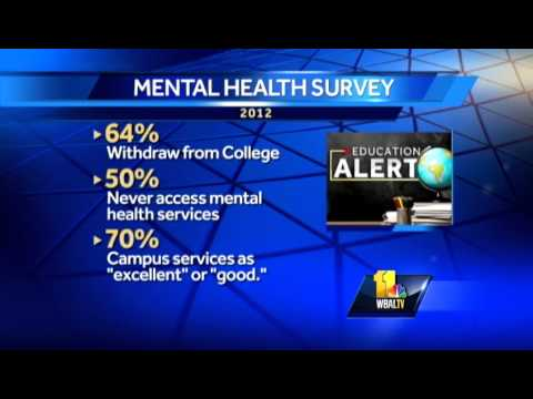 Mental Health Problems For College >> Mental Health Issues Plague Troubled College Students Youtube