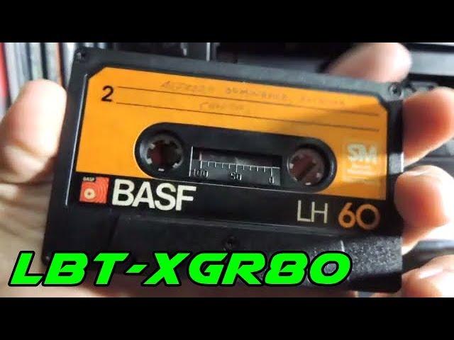 LBT-XGR80 Cassette Test (guitar music)