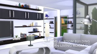 The Sims 4 - Room Building - Modern Living Room Sq