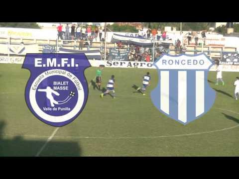 Resumen del partido de ida entre Lautaro Roncedo y EMFI