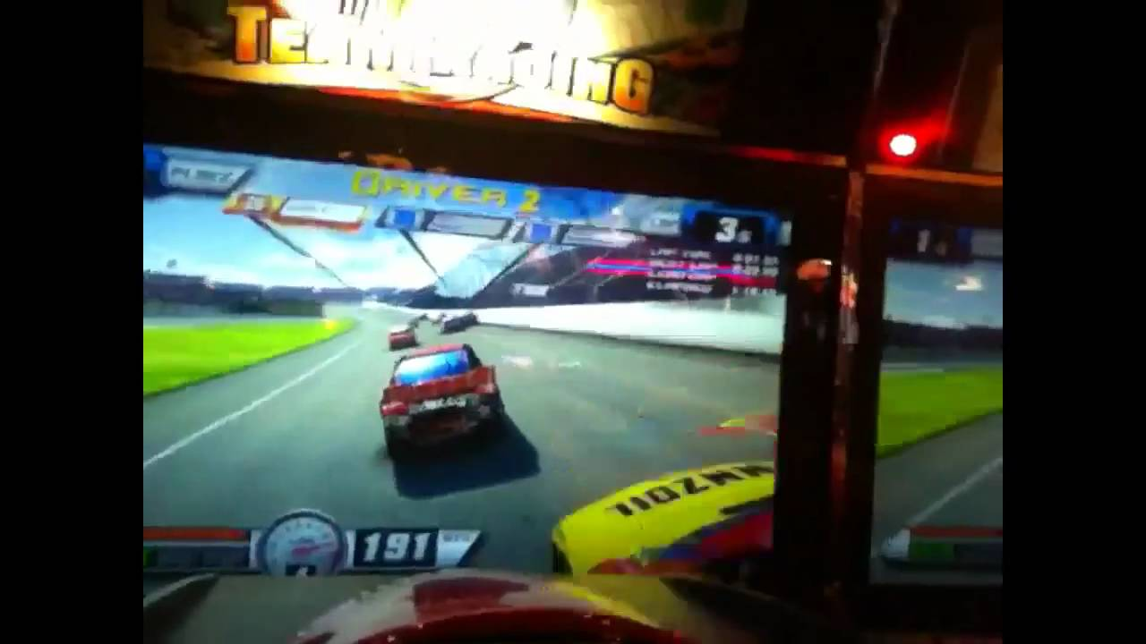 Dave And Buster Car Race Youtube