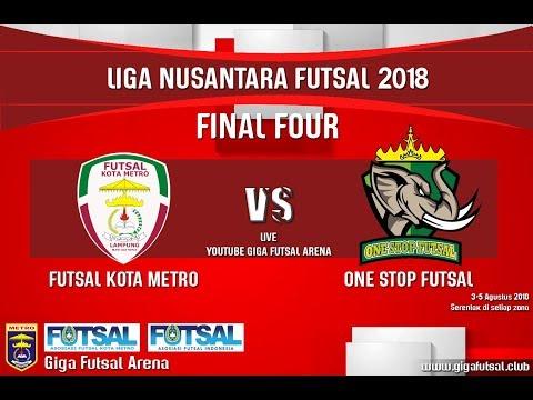 Futsal Kota Metro Kota Metro Vs One Stop Futsal Kota Metro Lfn Lampung Zona 2 Youtube