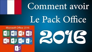 [HD][Tuto][Crack] Comment avoir le pack Office 2016 gratuitement
