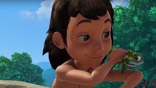 Маугли - Книга Джунглей - Красный крокодил–развивающий мультфильм для детей