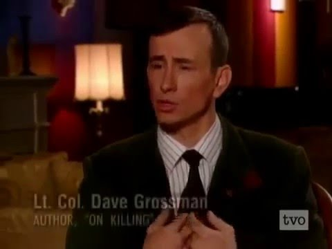 Psychologist Lt. Col. Dave Grossman -- On the Psychology of Killing