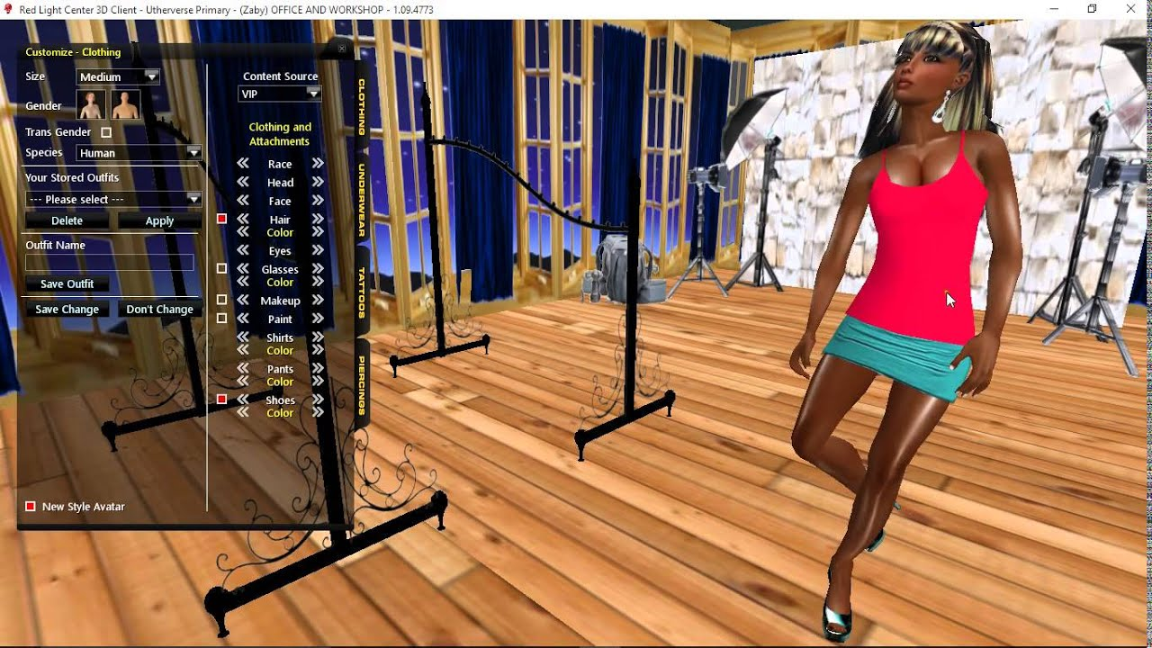 Rlc Clothes Design  Video Tutorials For Designing Clothes In Utherverse