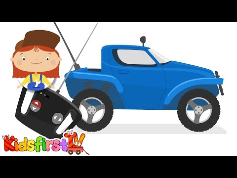 Doctor McWheelie & the remote control car. Kids' cartoons.