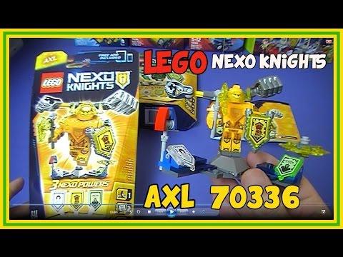 Magazyn Lego Nexo Knighst Nr 22016 Prezent Odrzutowy