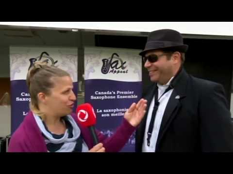 Celebrate Ottawa Interview Featuring Sax Appeal at the Gatineau Hot Air Balloon Festival