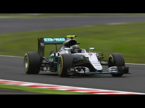 Japanese GP: Rosberg edges Hamilton to grab pole