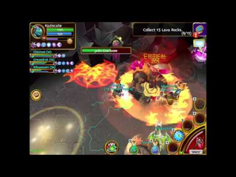 Arcane Legends: Elite Jadis Gearloose Boss Fight
