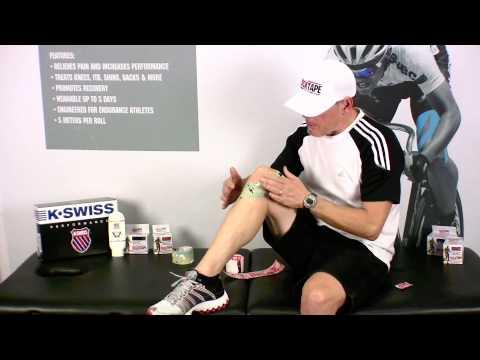 RockTape - Kinesiology Taping - General Knee Pain