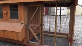 6' X 12' Chicken Coop And Run Combo | Ottawa Coops | Kingston Coops | Belleville Coops