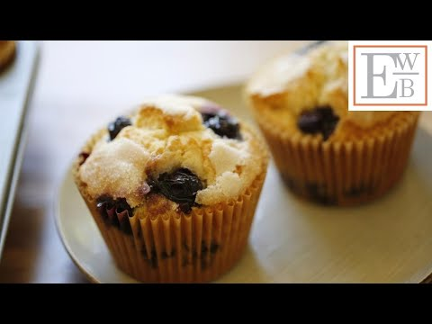Blueberry Muffins 2 Ways! (Traditional & Healthy!)