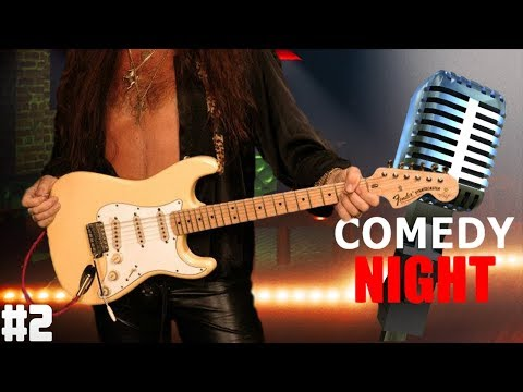 Playing Guitar on Comedy Night Ep. 2 - Much Guitar Solos