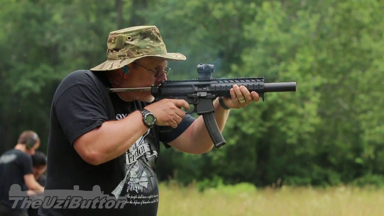 sig mpx 9mm sbr with aac tirant suppressor youtube