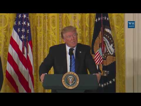 President Trump Signs Veterans Affairs Accountability Act Today 6/23/17 USA Morning News