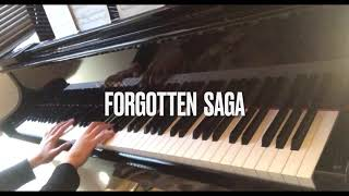 楽譜の整理をしていたら、T squareのforgotten sagaのピアノアレンジが出てきたので弾いてみました。