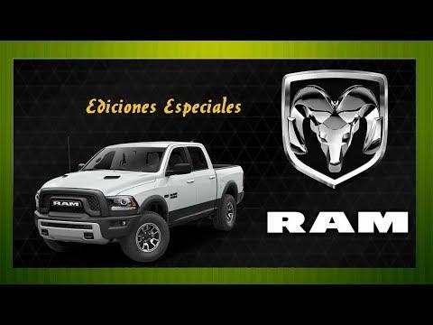 DODGE RAM EDICIONES ESPECIALES (Segunda parte)