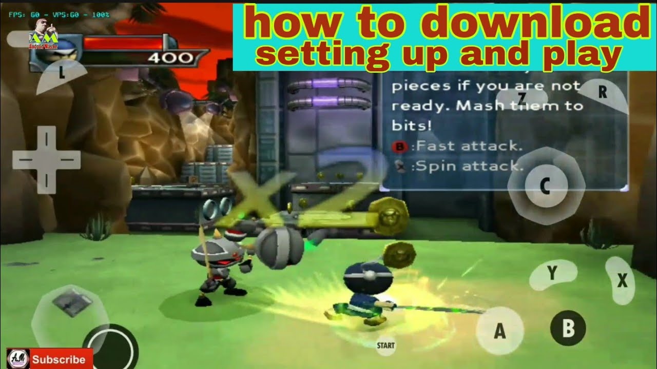 Damon ps2 game I Ninja in dolphin emulator mmj how to download setting and  play
