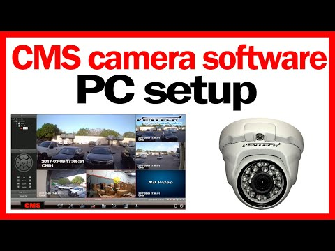 ✅ CMS camera software setup free download for h264 dvr
