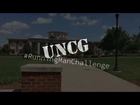 UNCG - #RunningManChallenge