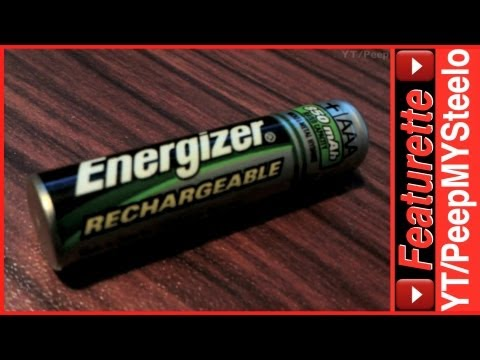 Energizer AAA Rechargeable Batteries As Best Normal Battery Replacement For Reusable Charging