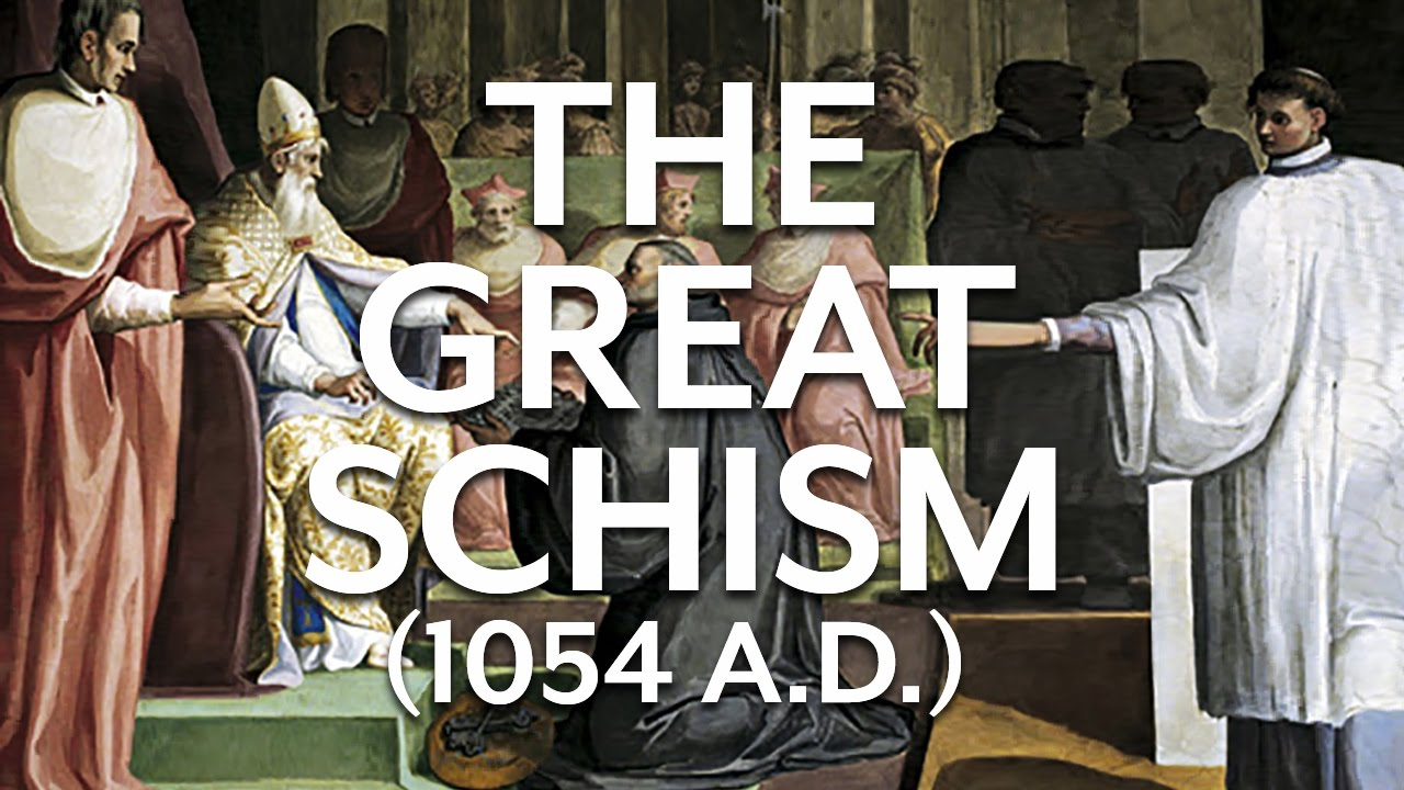 what caused the great schism