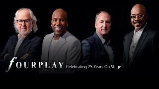 Contemporary jazz supergroup Fourplay celebrates their 25th anniver...