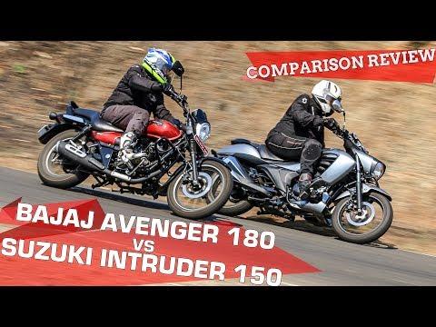 Bajaj Avenger 180 vs Suzuki Intruder 150 | Best Urban Cruiser? | Comparison Review | ZigWheels.com