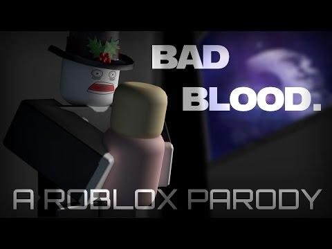 ROBLOX Music Video - Bad Blood PARODY