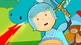 ★ NEW ★ ⚔️ Caillou the Knight ⚔️ Funny Animated Caillou | Cartoons for kids