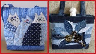 Very beautiful latest stylish Denim bag collection