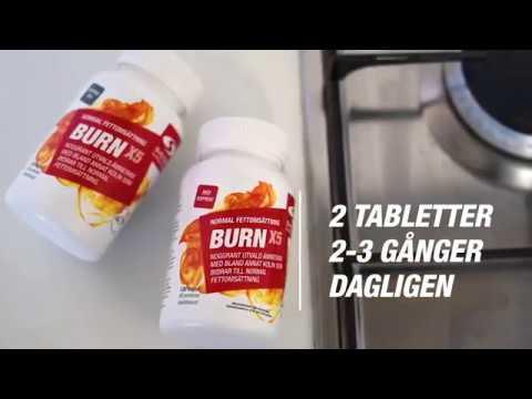 burn svenskt kosttillskott