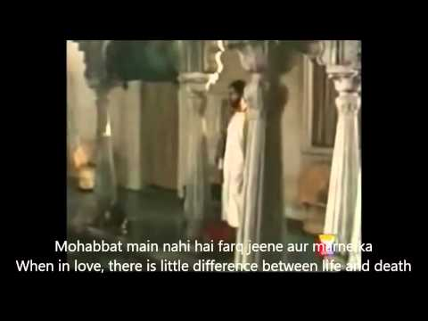 Hazaron Khwahish aesi Hindi English Subtitles Full Song Mirza Ghalib