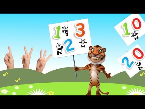 123 Song Deutsch -10 - 20 - Zahlenlied - Zahlen lernen