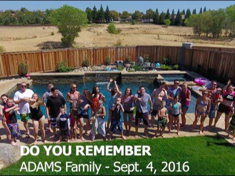 Do you remember  (Jay Sean) - Adams Family Lipdub 2016