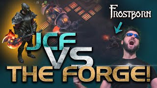 First time to do the Forge in Frostborn Survival! JCF vs the Sanctum of Odin