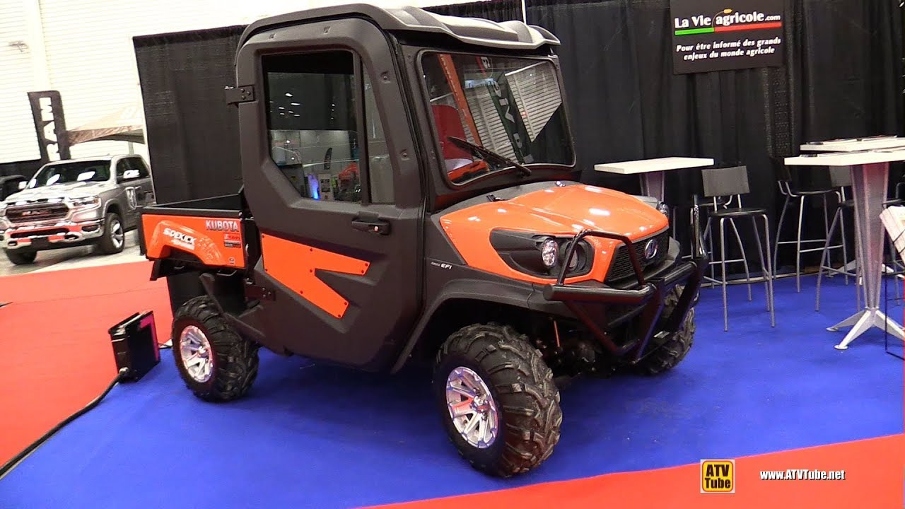 2018 Kubota Sidekick Rtv Xg 850 Utility Atv Walkaround
