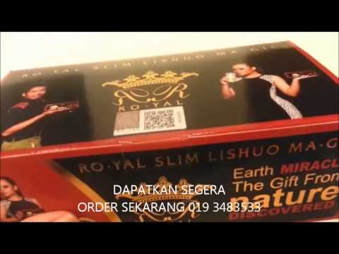 3Ciri Original Royal Slim LishuoMagic & RoyalDetox