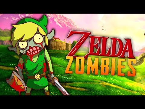 Zelda Zombies: Ocarina of Time Temple Forest (Call of Duty Zombies)