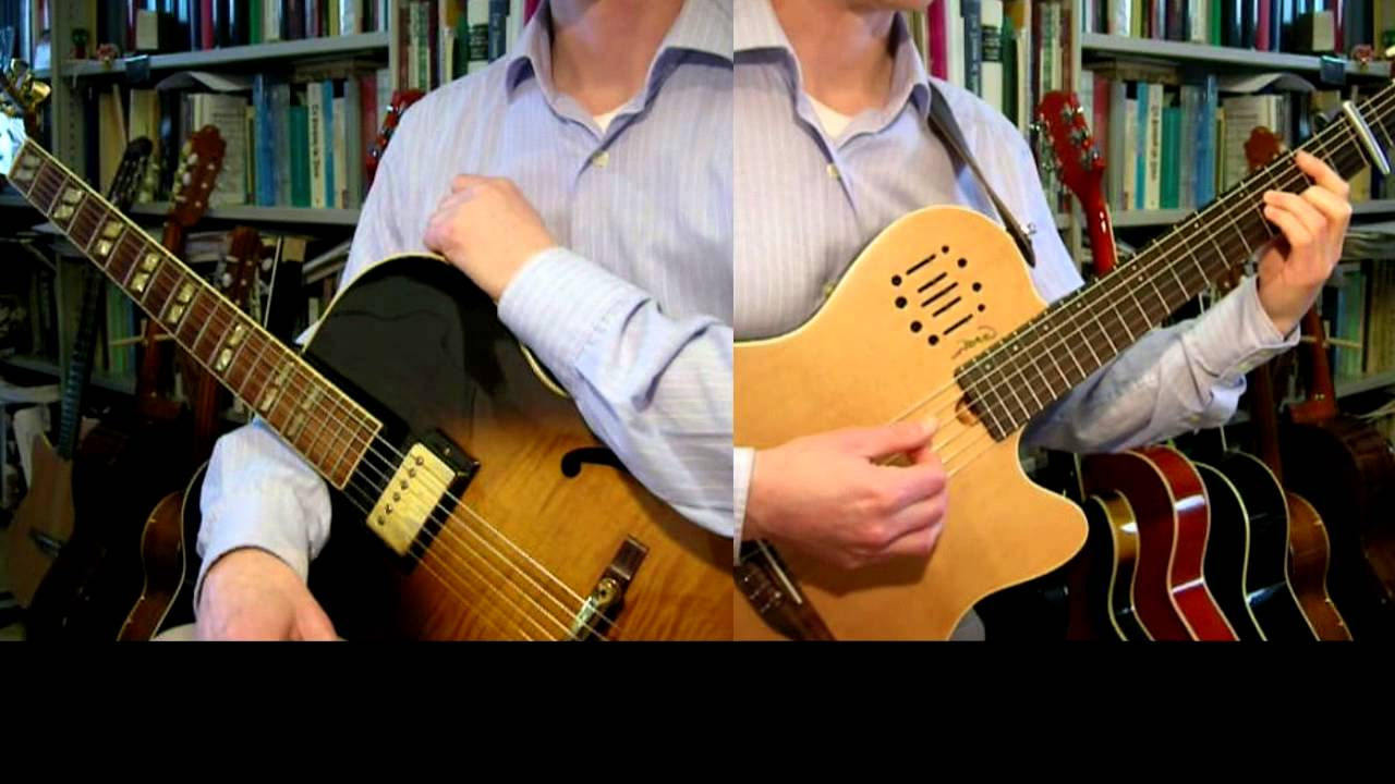 Jesus Take Me As I Am Guitar Arrangement Youtube