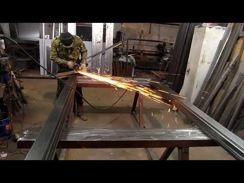 Металлические двери (распашные +стеклопакеты часть 1)