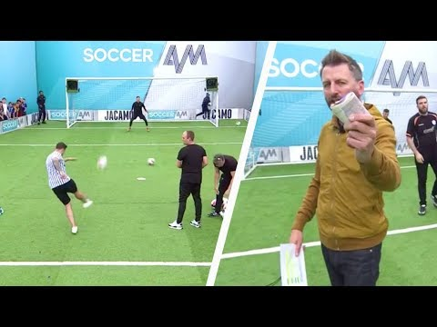 The worst volleys in the history of Soccer AM?!   Sheffield Wednesday fans   Volley Challenge