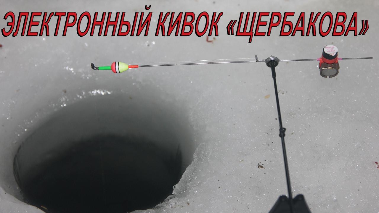 Электронный кивок щербакова для зимней рыбалки.