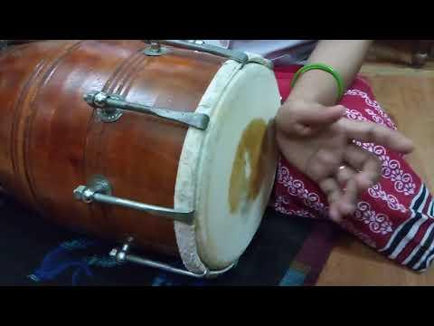Taal kharwa challa. matra 8 dholak lesson 1